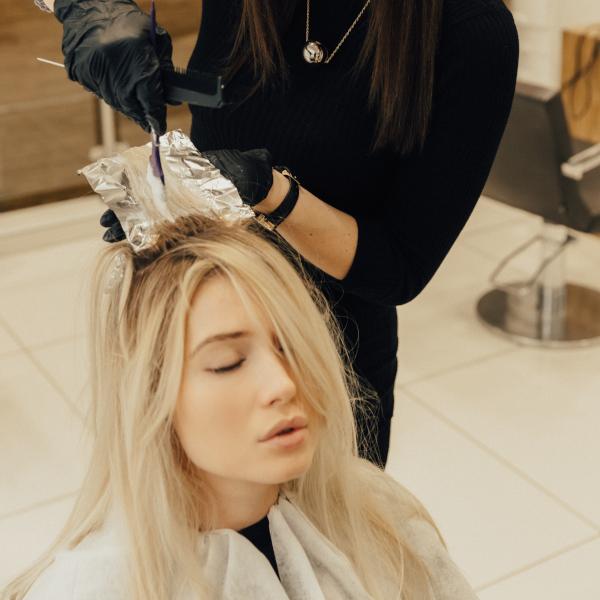 Окрашивание волос на Смоленской